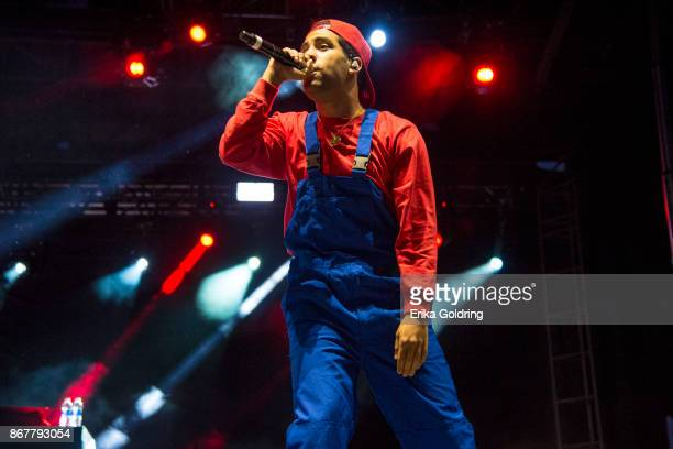 SuperDuperKyle performs during the 2017 Voodoo Music Arts Experience at City Park on October 28 2017 in New Orleans Louisiana