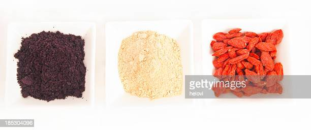 superfood - maca plant stock photos and pictures