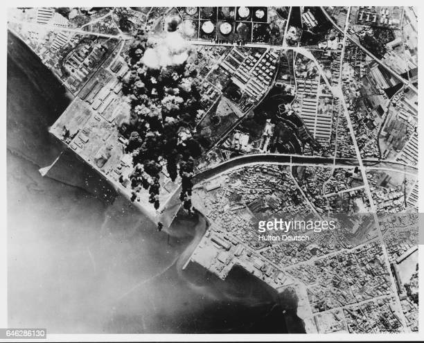 Superfortresses Drop 625 Tons Of Bombs In Korea B29 Superfortress dropping over 625 tons of bombs on the [] industrial center at Wansan Korea This is...