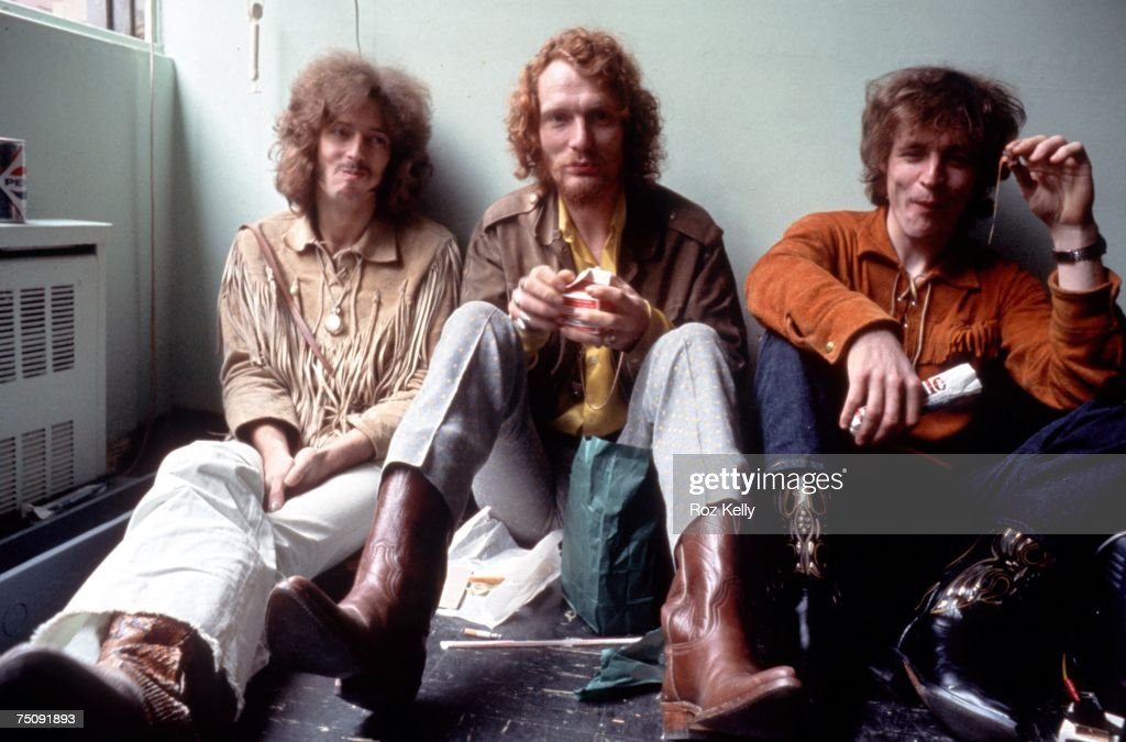 Supergroup Cream Portrait : News Photo