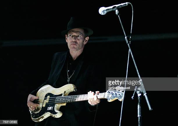 Supergroup formed by Blur's Damon Albarn with The Clash's Paul Simonon The Verve's Simon Tong and drummer Tony Allen plays historic landmark Festival...