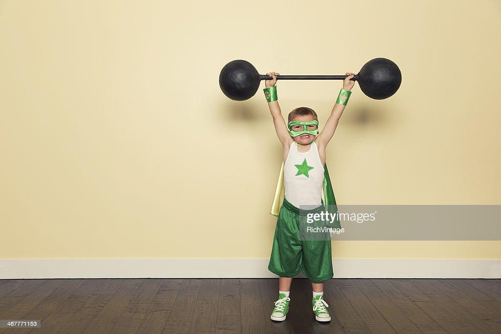 Superhero Training : Stock Photo
