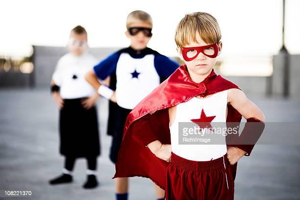 Superhero Trio