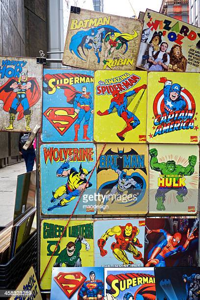 superheroes - fantastic four stock pictures, royalty-free photos & images