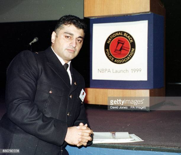 Superintendent Ali Dizaei at the first annual conference of the National Black Police Association being held at the International Conference Centre...