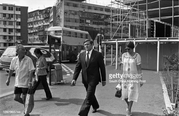 Superintendent Marcus Nigel Webster Pelly appears in the Tsuen Wan District Court He was charged with conspiracy between January 1 1970 and November...