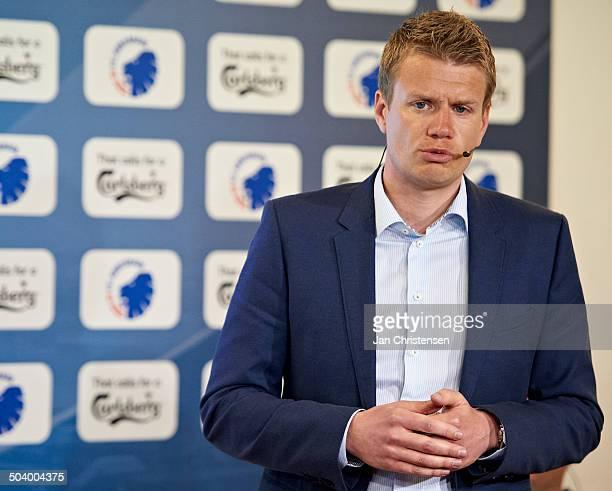 Superliga FCK pressemøde Johan Lange FCK © Jan Christensen/FrontzoneSportdk