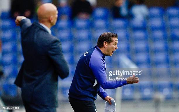 Superliga Randers FC vs AGF Assistenttræner / Assistantcoach Thomas Thomasberg Randers FC © Lars Rønbøg FrontzoneSportdk