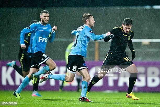 Superliga Sønderjyske vs Brøndby Henrik H Hansen Sønderjyske Alexander Szymanowski Brøndby IF © Lars Rønbøg Frontzonesport