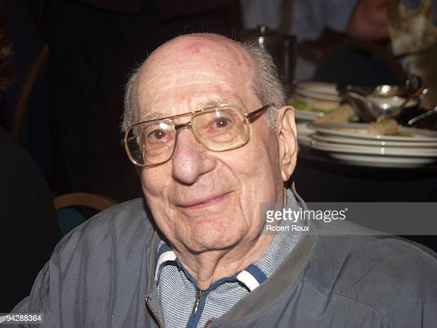 Superman Editor and DC Comics Goodwill Ambassador Julius Schwartz