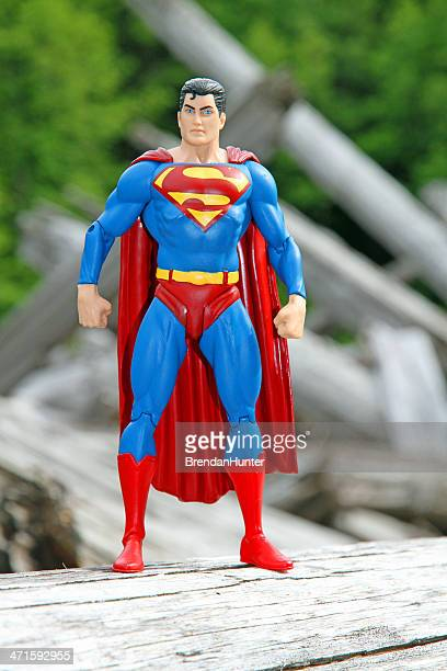 Superman in the Woods