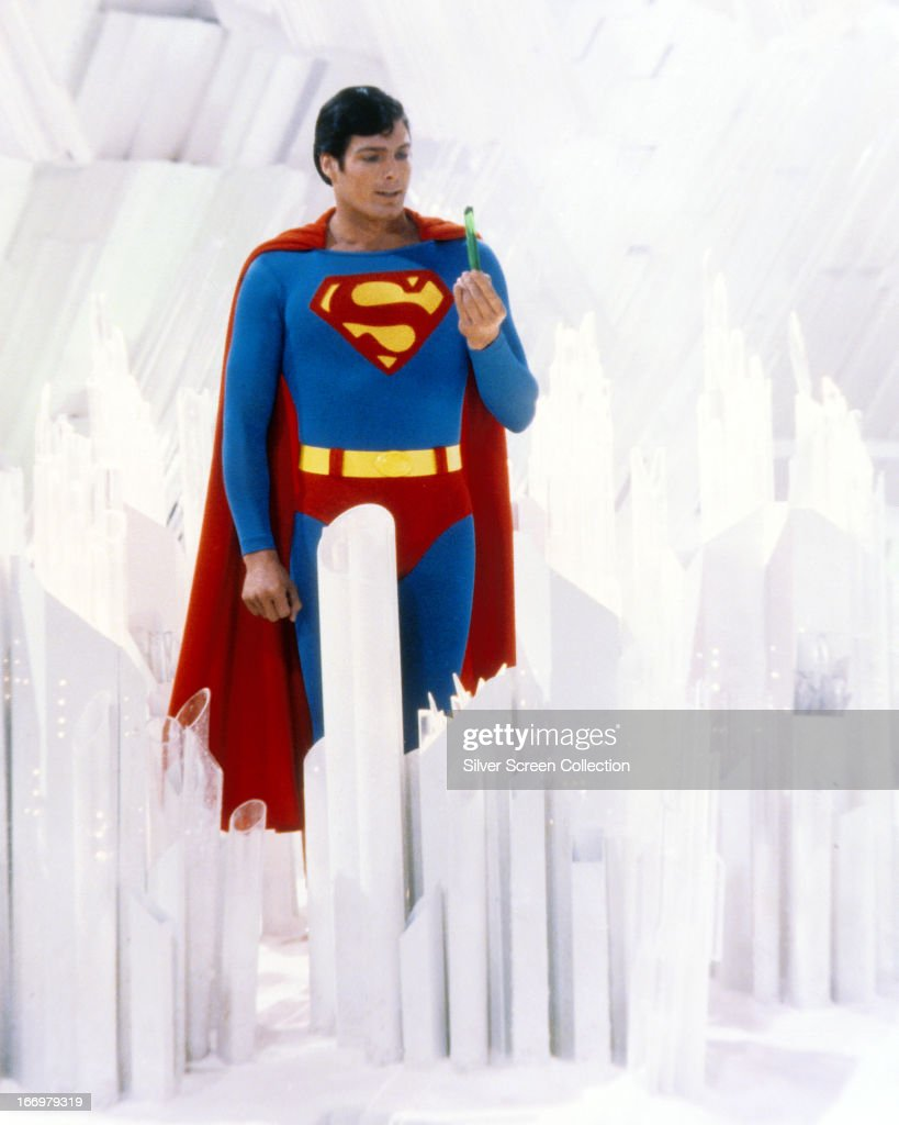 Reeve As Superman : News Photo