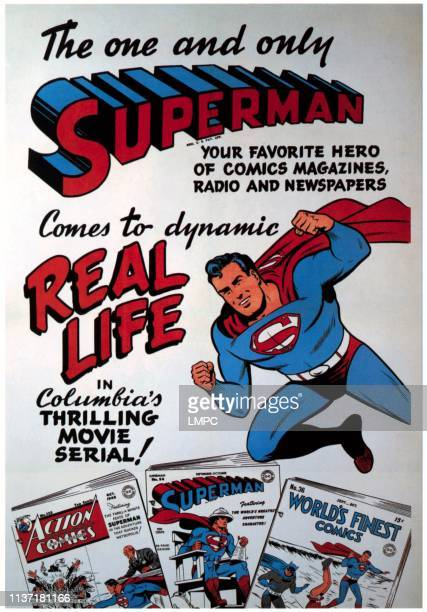 Superman poster 1948
