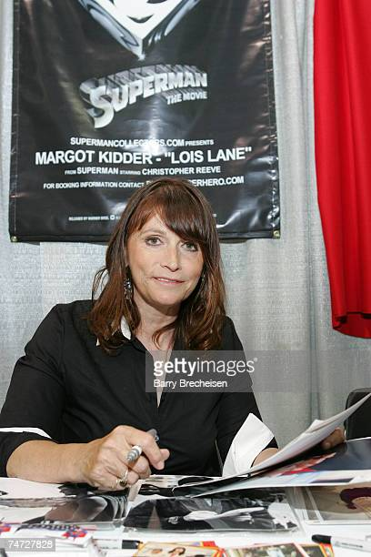 Superman's Lois Lane Margot Kidder at the Venue Donald E Stephens Convention Center in Chicago Illinois