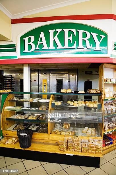 Supermarket bakery