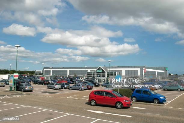 ASDA supermarket car park Great Yarmouth United Kingdom