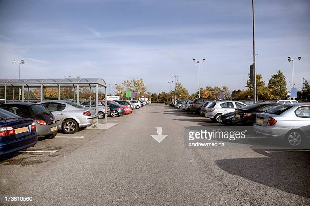 supermarket car park-manchester. more in lightboxes below - car park stock pictures, royalty-free photos & images