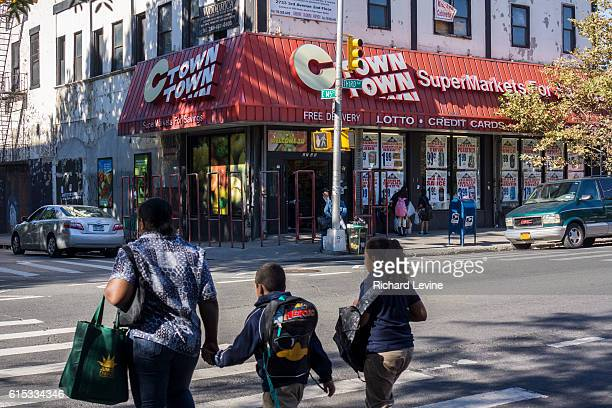 A supermarket in the Melrose neighborhood of the Bronx in New York on Thursday September 19 2013 A recent study found that the Bronx is the least...