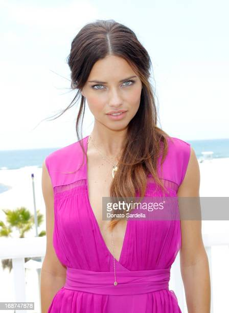 Supermodel Adriana Lima celebrates Victoria's Secret Angels 8th annual 2013 What is Sexy List at Shutters On The Beach on May 14 2013 in Santa Monica...