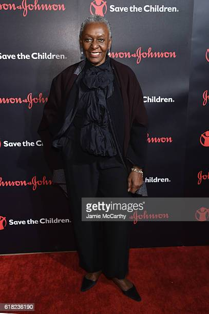 Supermodel and Award Presenter Bethann Hardison attends the 4th Annual Save the Children Illumination Gala at The Plaza hotel on October 25 2016 in...