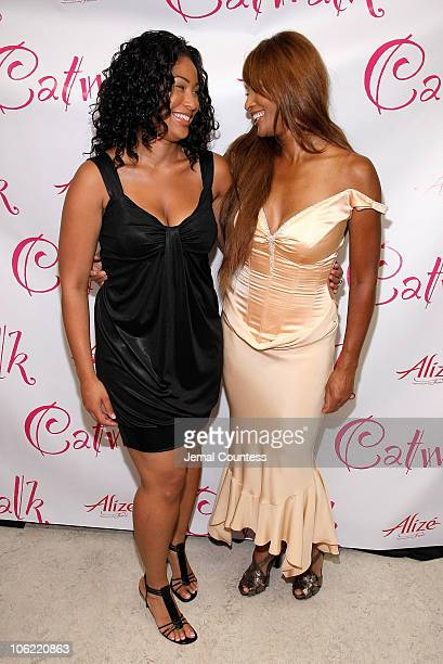 Supermodel Beverly Johnson and daughter Anansa Sims at the Catwalk by Deborah Gregory book release party at FashionOpolis inside the Laboratory...