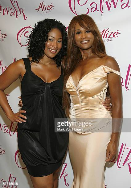 Supermodel Beverly Johnson and daughter Anansa Sims attend the Catwalk by Deborah Gregory Book Release Party at Laboratory Institute of Merchandising...