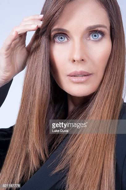 Supermodel Carol Alt is photographed for VVV Magazine on June 19 2015 in Los Angeles California