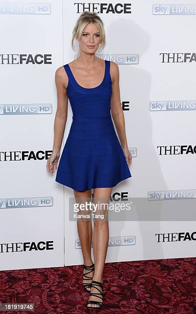 Supermodel Caroline Winberg arrives for a special screening and QA session of their new TV show 'The Face' held at The Royal Opera House on September...