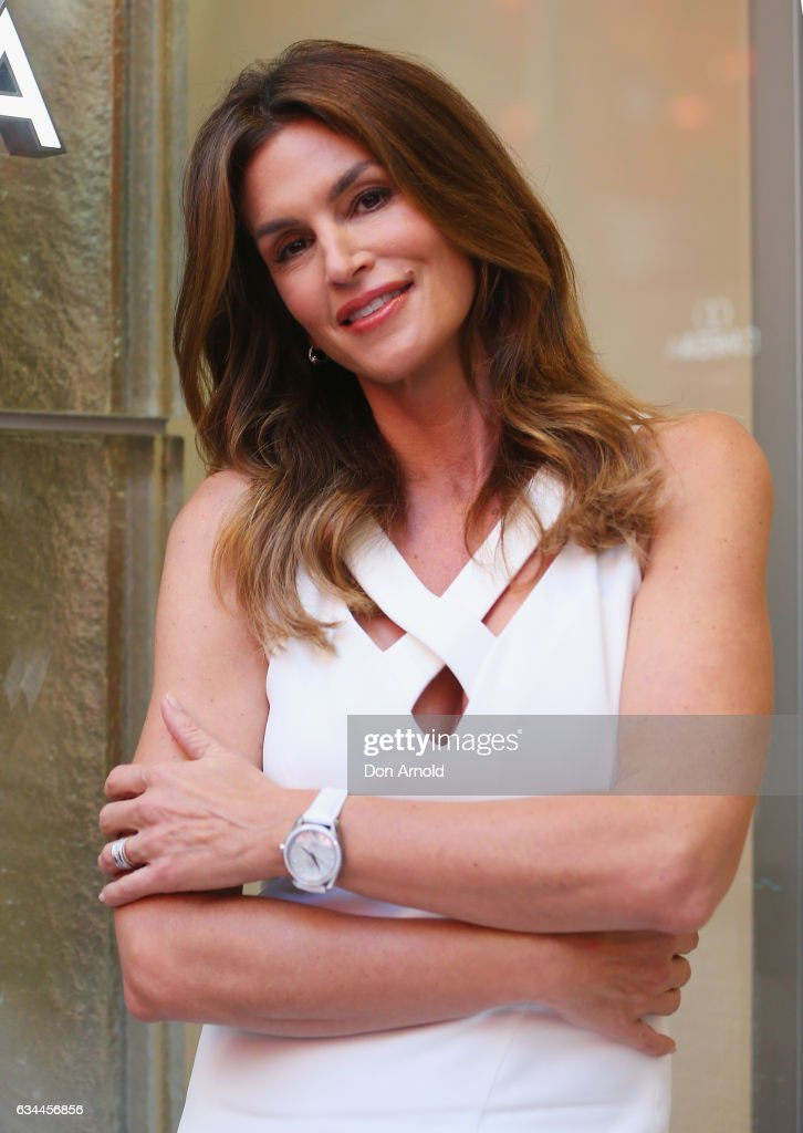 Cindy Crawford Promotes Omega In Sydney : News Photo