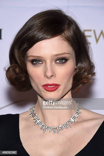 Supermodel Coco Rocha attends The New York Ball The 20th Anniversary Benefit for The European School of Economics at Trump Tower on November 19 2014...