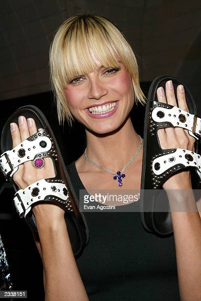 new arrival 31045 3a174 60 Top Heidi Klum Birkenstock Pictures, Photos and Images ...