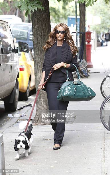 Supermodel Iman On The Go In Nyc Sporting Her Hsn Global Chic
