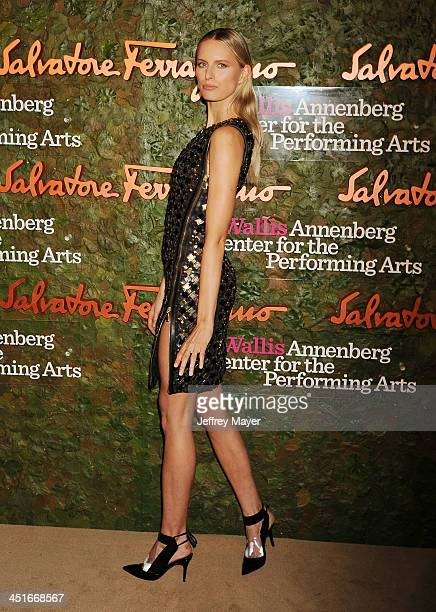 Supermodel Karolina Kurkova arrives at the Wallis Annenberg Center For The Performing Arts Inaugural Gala at Wallis Annenberg Center for the...