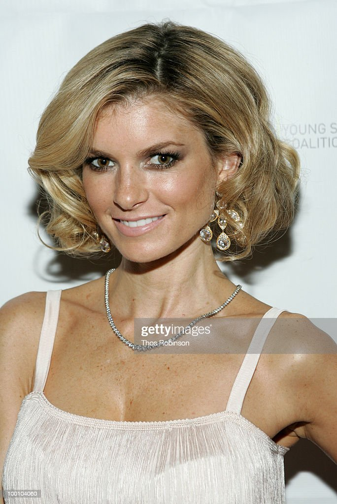 Supermodel Marisa Miller attends Young Survival Coalition Hosts 'In Living Pink' Benefit at Crimson on May 20, 2010 in New York City.