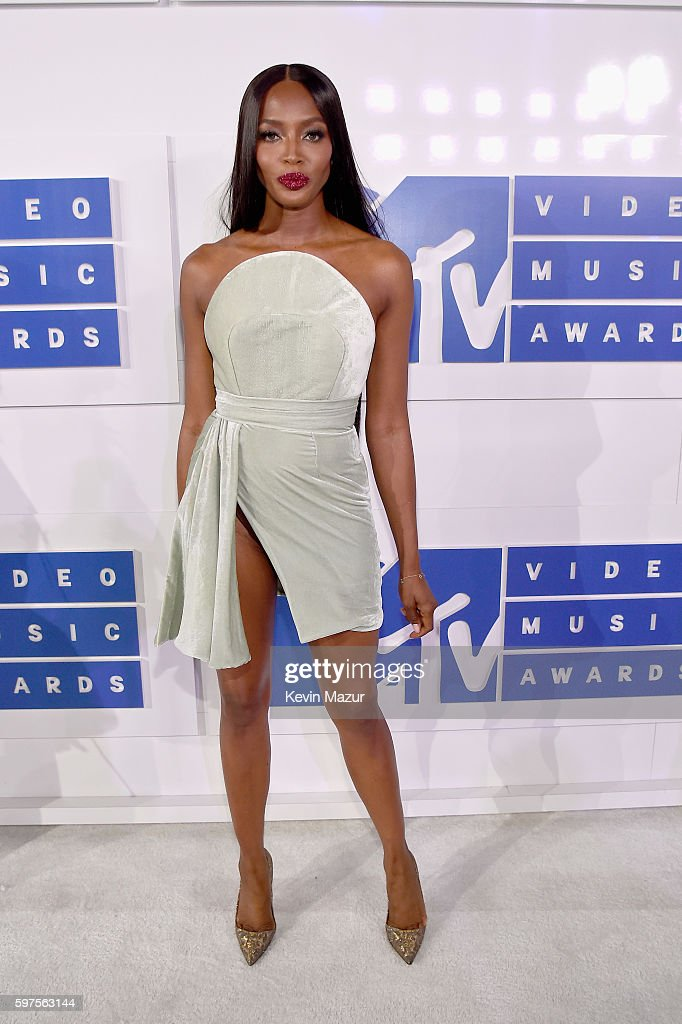 Supermodel Naomi Campbell attends the 2016 MTV Video Music Awards at Madison Square Garden on August 28, 2016 in New York City.