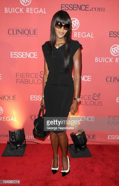 Supermodel Naomi Campbell attends the Essence Magazine 40th Anniversary Fierce & Fabulous Awards Luncheon at Mandarin Oriental Hotel on September 13,...