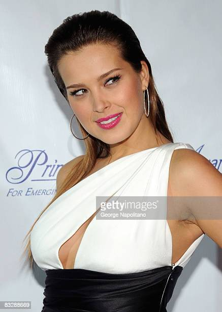 Supermodel Petra Nemcova attends The Princess Grace Awards Gala at Cipriani 42nd Street on October 15, 2008 in New York City.