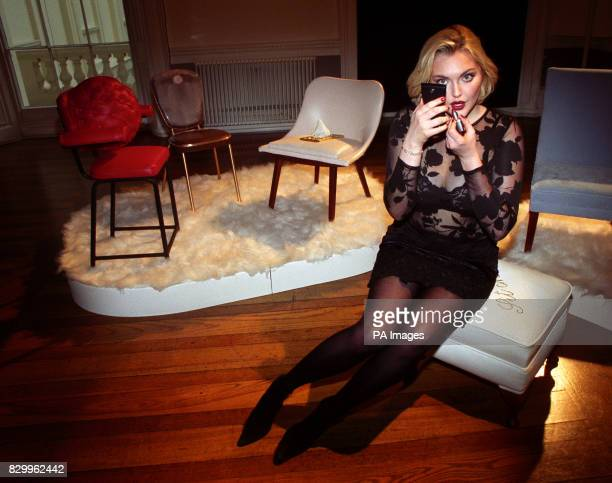 Supermodel Sophie Dahl takes part in a unique Virtual Art Gallery inspired by and using Oil of Ulay's new Colour Collection cosmetics at the ICA in...