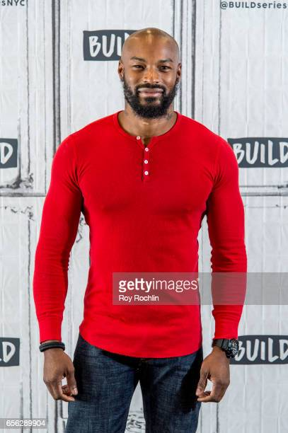 Supermodel Tyson Beckford discusses his residency at Chippendales In Las Vegas with the Build Seris at Build Studio on March 21 2017 in New York City