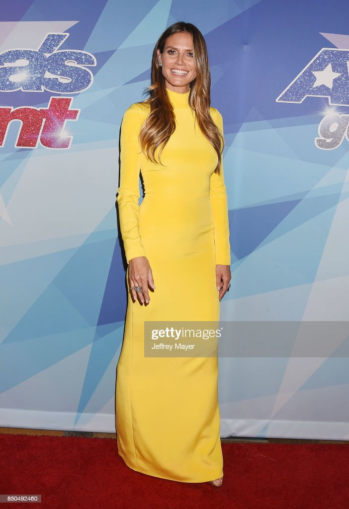 Supermodel-actress-TV personality Heidi Klum attends NBC's 'America's Got Talent' Season 12 Finale at the Dolby Theatre on September 20, 2017 in Hollywood, California.