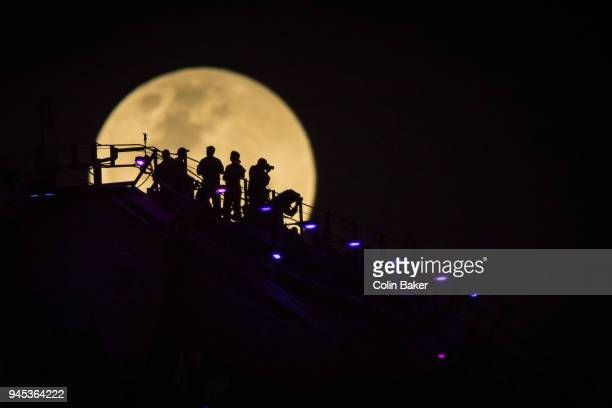 supermoon - supermoon stock pictures, royalty-free photos & images