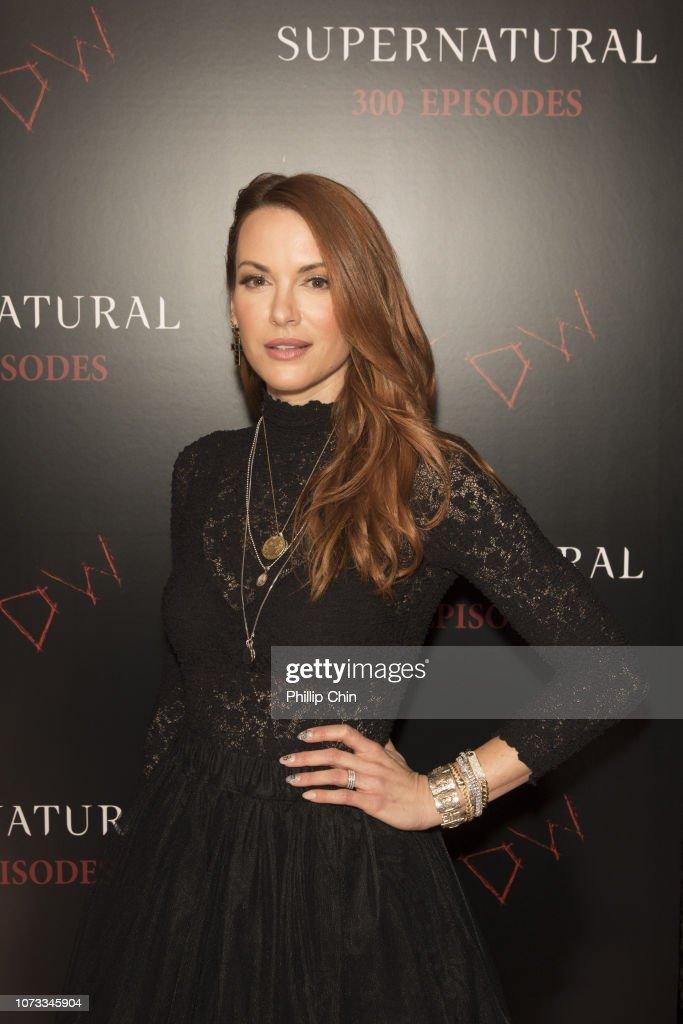 """Supernatural"" 300th Episode Celebration : News Photo"