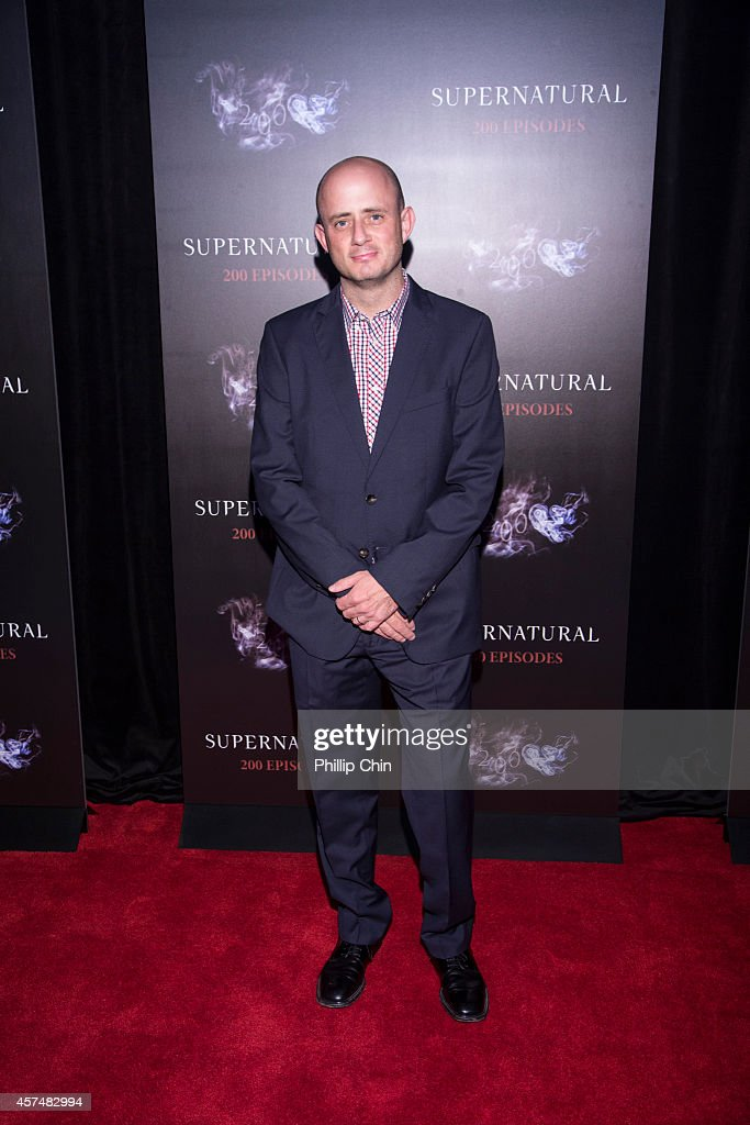 ÒSupernatural' creator Eric Kripke attends the 'Supernatural' 200th episode celebration at the Fairmont Pacific Rim Hotel on October 18, 2014 in Vancouver, Canada.