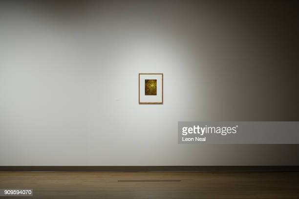 Supernova by Andreas Gursky depicting the largest thing in the universe is displayed in a small frame in the reopened Hayward Gallery on January 24...