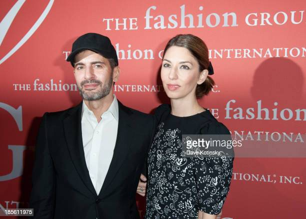 'Superstar Award' honoree designer Marc Jacobs left and director Sofia Coppola attend the 30th Annual Night Of Stars presented by The Fashion Group...