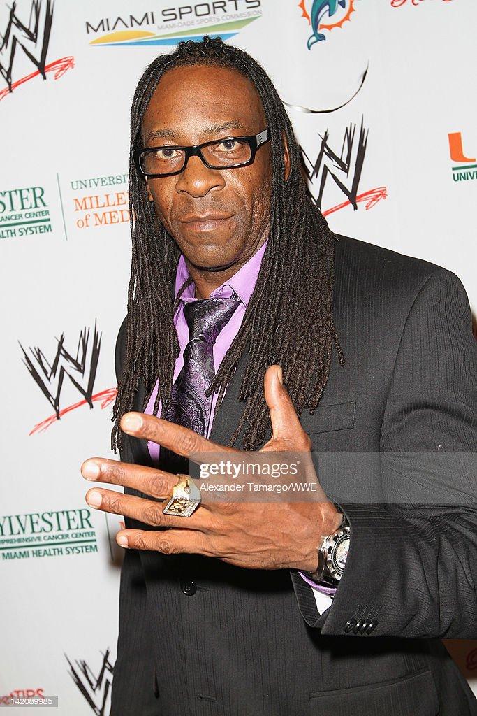 WrestleMania Premiere Party A Celebration Of Miami Art And Fashion : News Photo