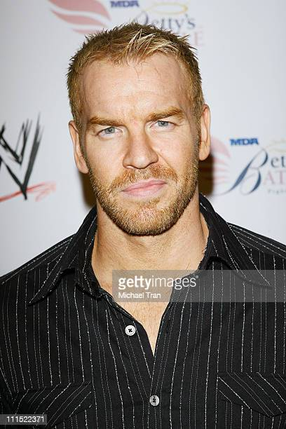 WWE Superstar Christian Cage arrives to WWE's Summer Slam Kickoff Party held at hwood on August 21 2009 in Hollywood California