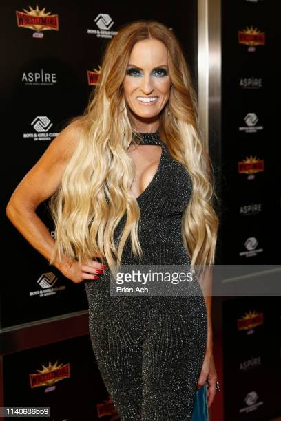 Superstar Dana Warrior attends the WWE Superstars For Hope Reception on April 05 2019 in New York City