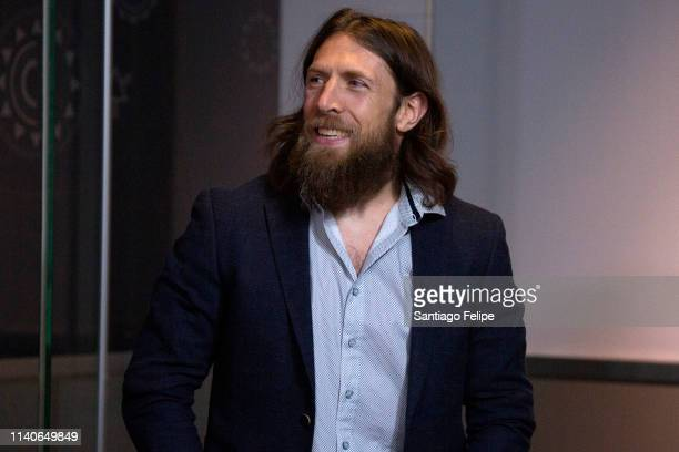 Superstar Daniel Bryan Celebrate's Wrestlemania 35 at The Empire State Building on April 05, 2019 in New York City.