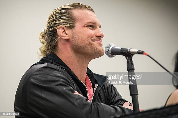Superstar Dolph Ziggler attends Wizard World Comic Con at Cleveland Convention Center on February 21 2015 in Cleveland Ohio